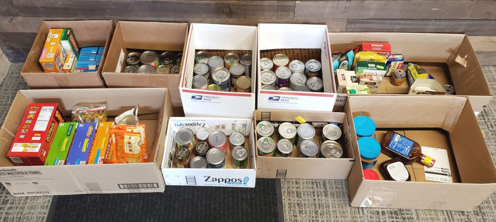 Donations for the Greater Chicago Food Depository
